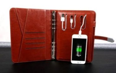 Personalized Power Bank Diary