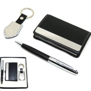 Keychain, Pen & Visiting Card Holder Combo