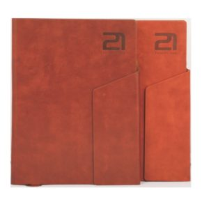 PU Leather New Year Diary