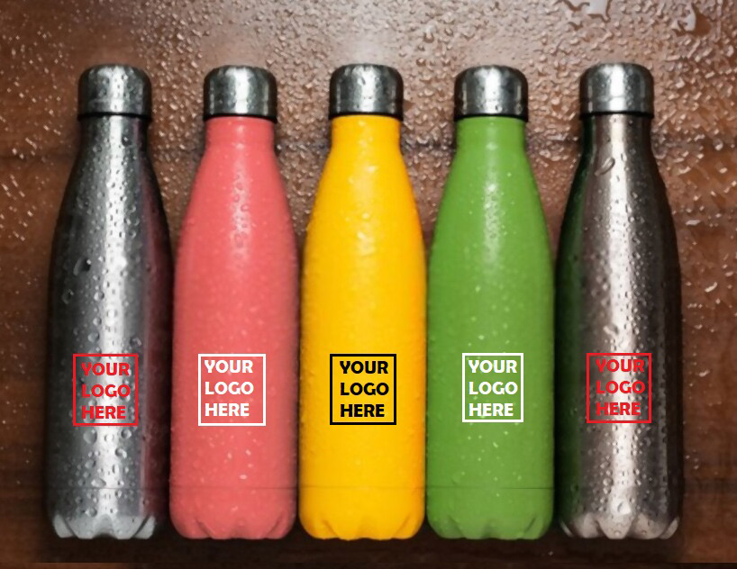 Water Bottles with logo for promotional purpose