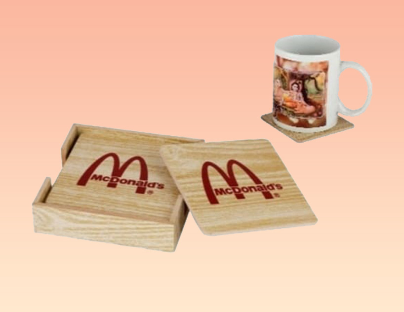 cUSTOMIZED COASTER SETS FOR CORPORATE GIFTING