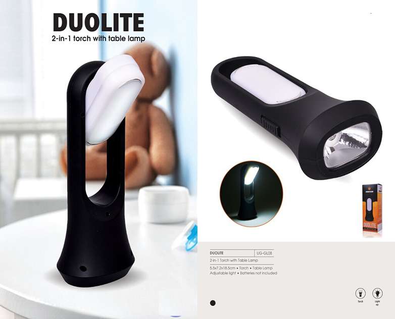 Torch with Table Lamp